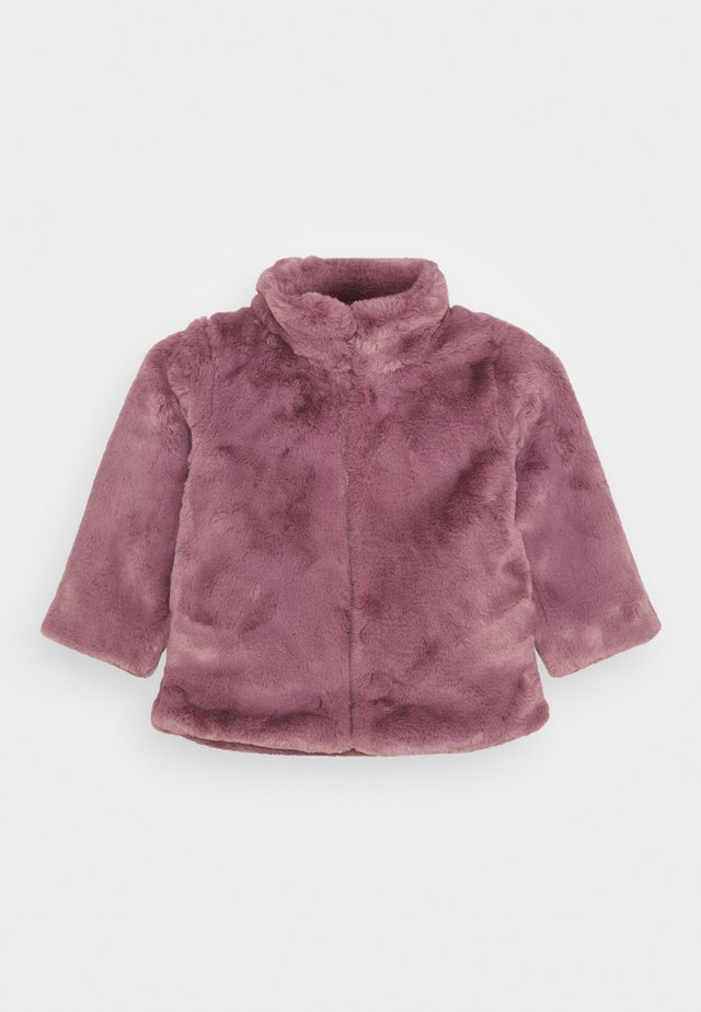 NMFMAMY FAUX FUR JACKET - Jas - wistful mauve