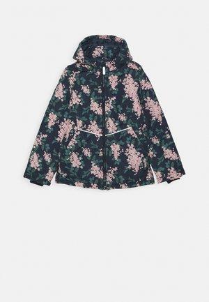 NKFMAXI JACKET FLOWER - Winter jacket - dark sapphire