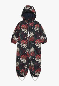 Name it - NMFSNOW08 SUIT BIG FLOWER - Skioverall / Skidragter - dark sapphire - 1