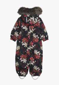 Name it - NMFSNOW08 SUIT BIG FLOWER - Skioverall / Skidragter - dark sapphire - 2