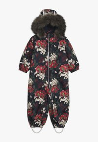 Name it - NMFSNOW08 SUIT BIG FLOWER - Skioverall / Skidragter - dark sapphire - 0