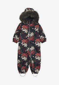 Name it - NMFSNOW08 SUIT BIG FLOWER - Skioverall / Skidragter - dark sapphire - 4