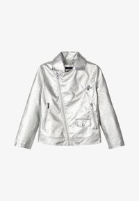 Name it - Faux leather jacket - silver - 0
