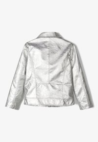 Name it - Faux leather jacket - silver - 1