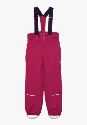NKFSNOW03 PANT - Pantalon de ski - cerise