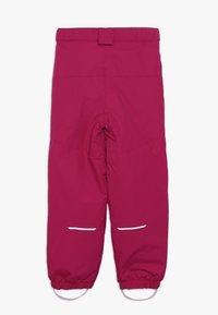 Name it - NKFSNOW03 PANT - Pantalon de ski - cerise - 2