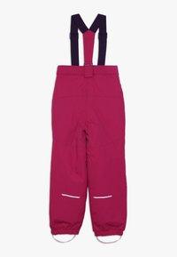 Name it - NKFSNOW03 PANT - Pantalon de ski - cerise - 1