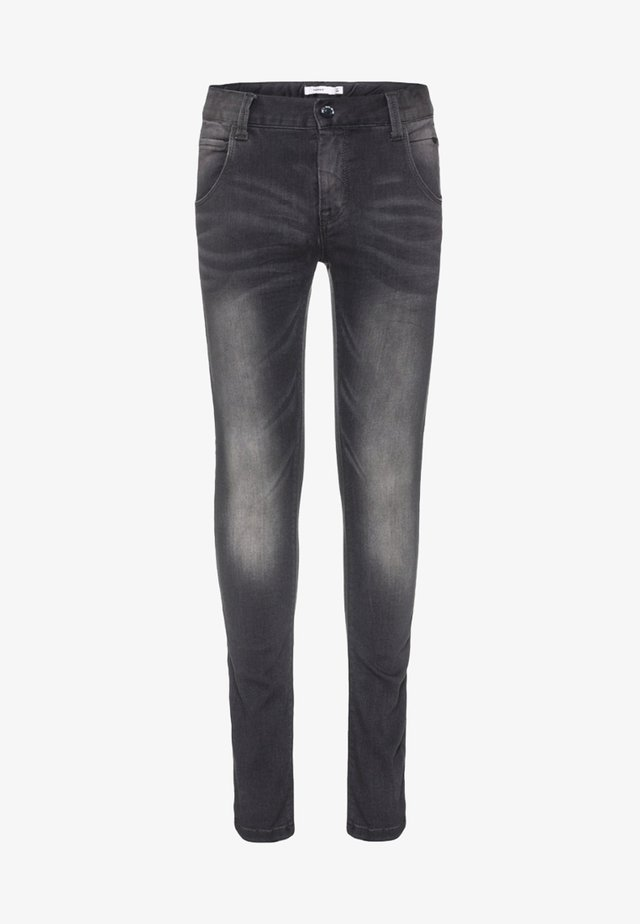 NITCLAS - Slim fit jeans - dark grey denim