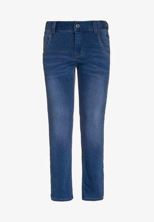 NITCLAS - Slim fit -farkut - medium blue denim