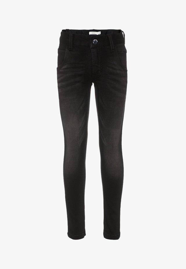 NITCLAS - Slim fit jeans - black denim