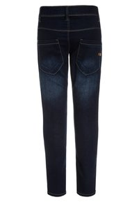 Name it - NITTAX  - Vaqueros pitillo - dark blue denim - 1