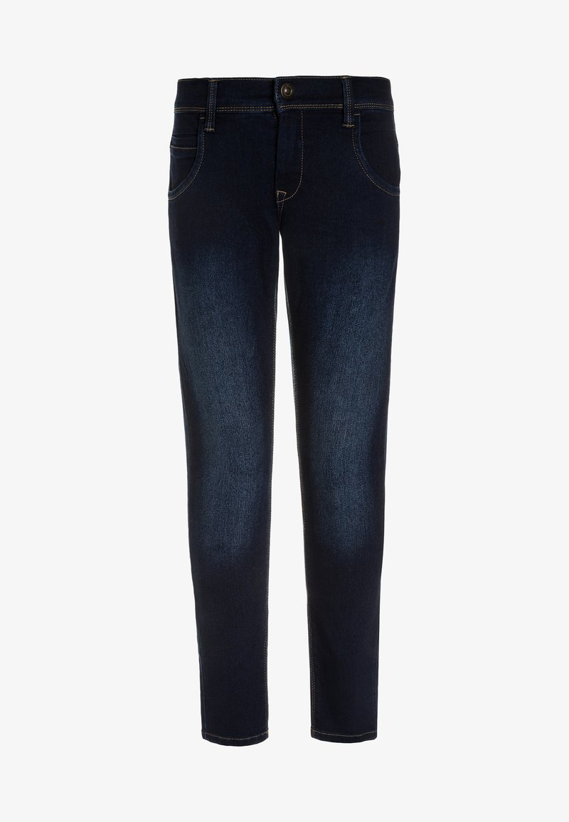 Name it - NITTAX  - Vaqueros pitillo - dark blue denim