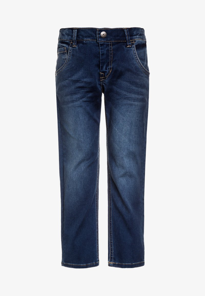 Name it - NKMRYAN PANT  - Jeans straight leg - dark blue denim