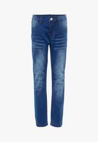 Name it - Straight leg -farkut - medium blue denim - 4