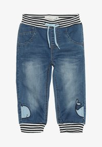 Name it - NBMBOB DNMBAJAKE PANT - Jeans Tapered Fit - medium blue denim - 4