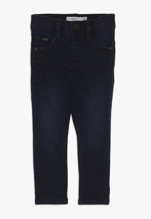 NMMSILAS PANT CAMP - Jeans Skinny Fit - medium blue denim