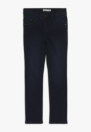 NKMSILAS PANT - Jeansy Skinny Fit - medium blue denim