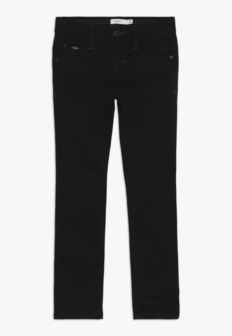 Name it - NKMSILAS PANT - Jeans Skinny Fit - black denim