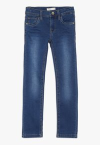 Name it - NKMTHEO PANT - Jeans Slim Fit - dark blue denim - 0