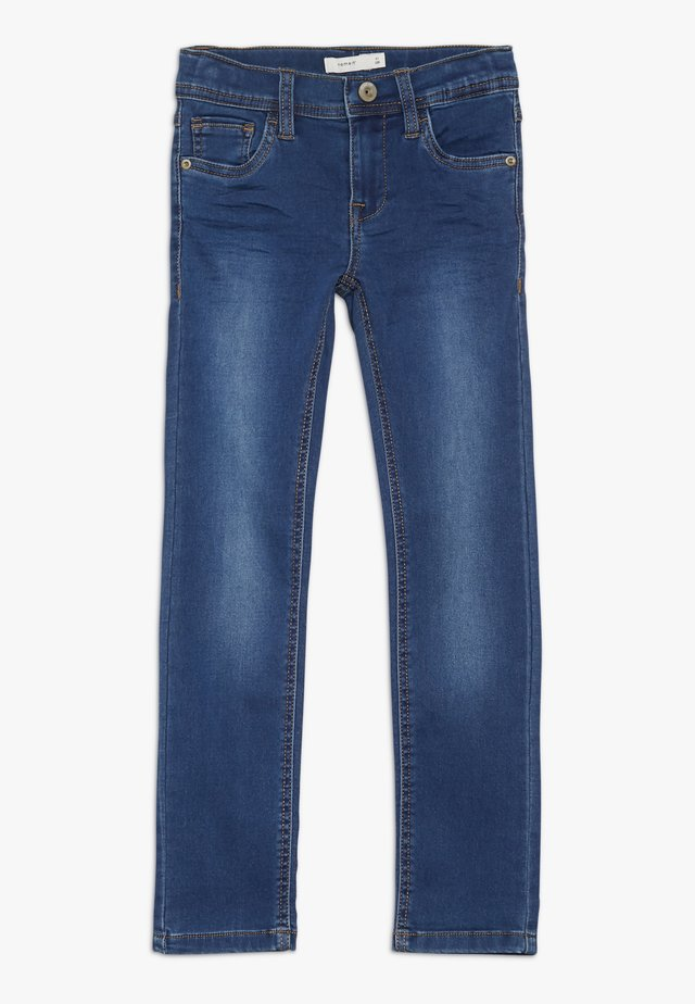 NKMTHEO PANT - Slim fit jeans - dark blue denim