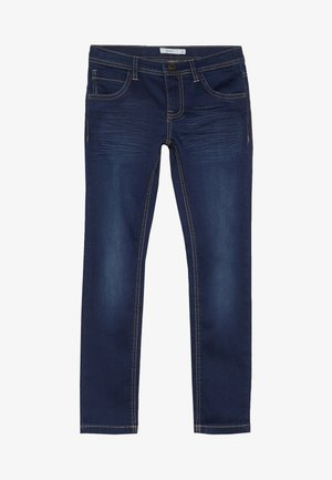 NKMROSS DNMTHAYER PANT - Slim fit jeans - dark blue denim