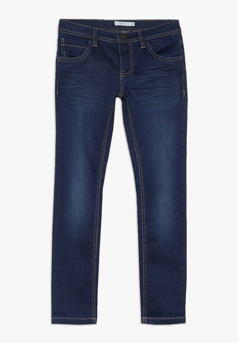 Name it - NKMROSS DNMTHAYER PANT - Vaqueros slim fit - dark blue denim