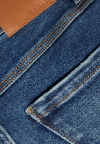 Name it - Straight leg jeans - dark blue denim - 2