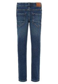 Name it - Straight leg jeans - dark blue denim - 1