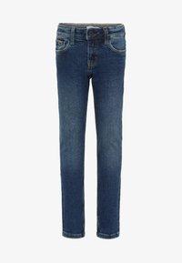 Name it - Straight leg jeans - dark blue denim - 0