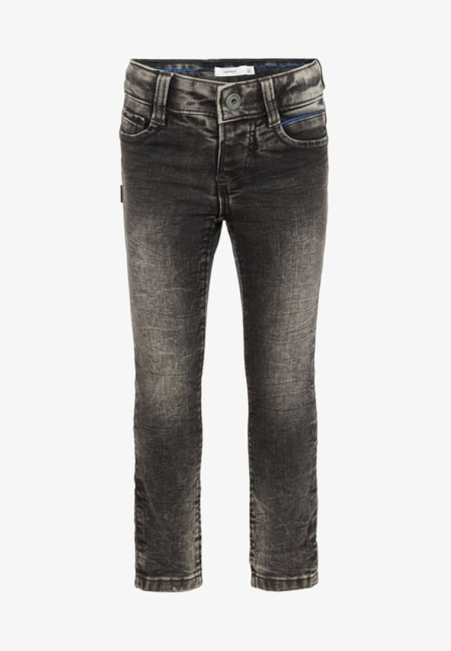POWERSTRETCH - Slim fit -farkut - dark grey denim