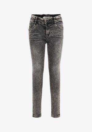 Jeans Skinny - dark grey denim