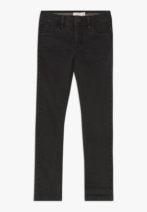 NKMSILAS DNMCARTUS PANT - Straight leg jeans - black denim