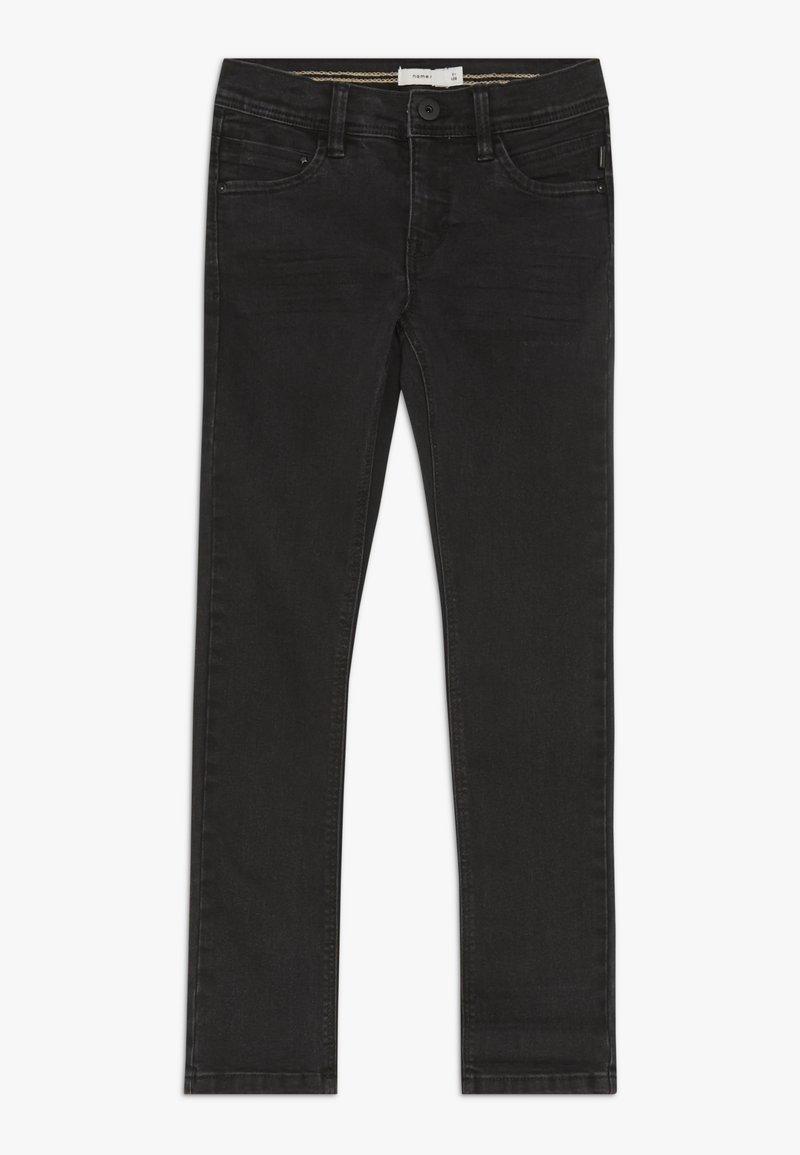 Name it - NKMSILAS DNMCARTUS PANT - Straight leg jeans - black denim