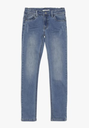 NKMTHEO PANT - Slim fit jeans - light blue denim