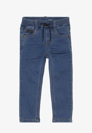 NMMROBIN PANT - Jeans slim fit - medium blue denim