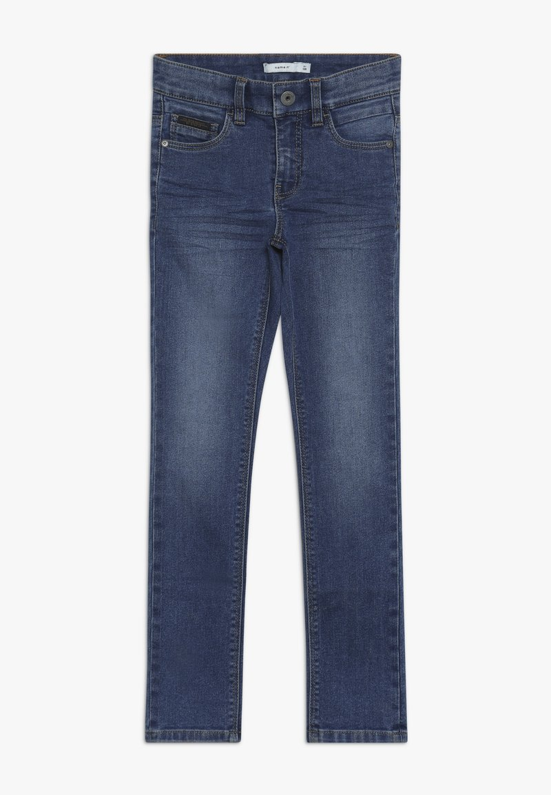 Name it - NKMTHEO PANT - Vaqueros boyfriend - medium blue denim