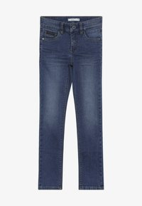 Name it - NKMTHEO PANT - Vaqueros boyfriend - medium blue denim - 2