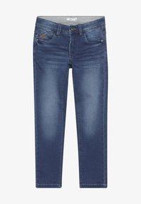Name it - NKMBABU PANT - Straight leg jeans - medium blue denim - 2