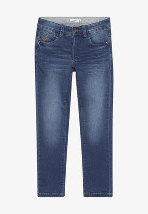 NKMBABU PANT - Straight leg jeans - medium blue denim