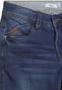 Name it - NKMBABU PANT - Straight leg jeans - medium blue denim - 3