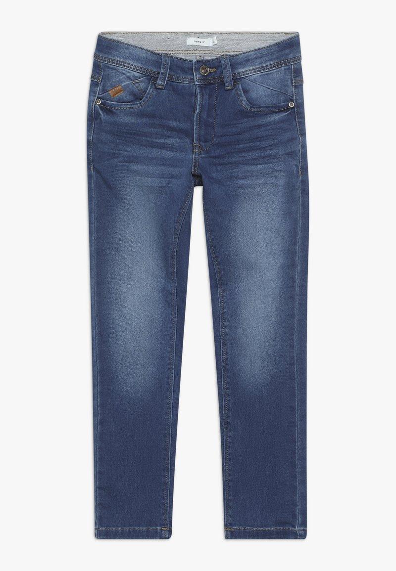 Name it - NKMBABU PANT - Straight leg jeans - medium blue denim