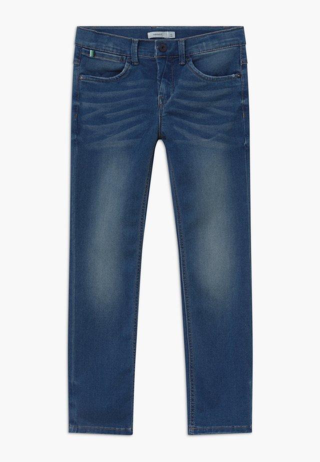 NKMRYAN - Straight leg jeans - medium blue denim