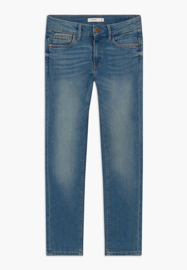 NKMTHEO PANT - Jeans Straight Leg - medium blue denim