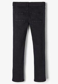 Name it - Straight leg jeans - black denim - 1