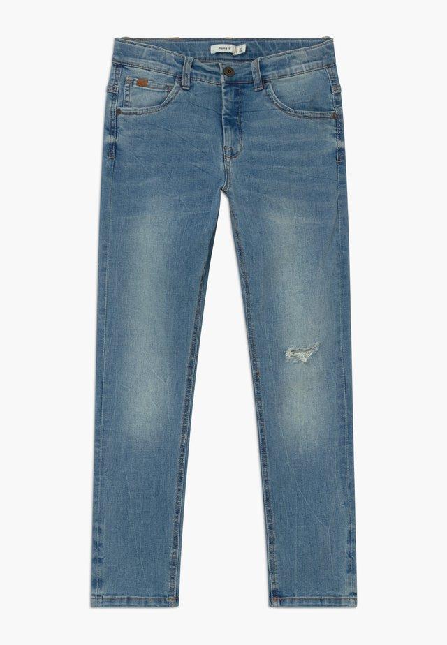 NKMBABU - Slim fit jeans - light blue denim
