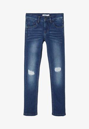 X-SLIM FIT - Jean slim - medium blue denim