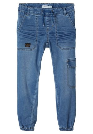 Jeans fuselé - medium blue denim