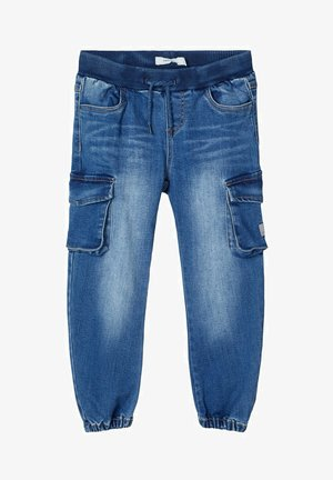 POWERSTRETCH  - Relaxed fit -farkut - medium blue denim