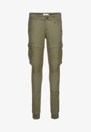 NITBAMGO PANT  - Cargo trousers - deep lichen green