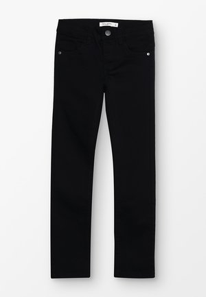 NMMTHEO TWIADAM - Slim fit jeans - black